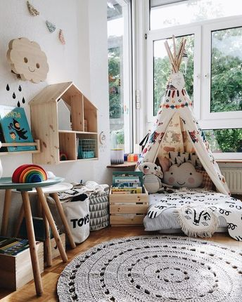 You Can Make Your Playroom Teepee An Outdoor Playhouse For Less Than $10