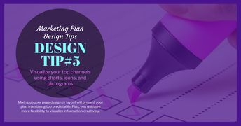 Circle Marketing Plan Facebook Post Template Template - Venngage