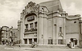 Thalia Theater Wuppertal. Historische Ansicht.