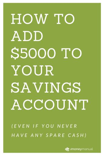 It's time to start saving