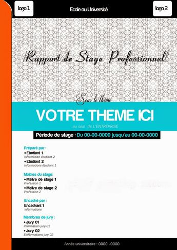 Page De Garde Dossier Professionnel Ideas And Images Pikef