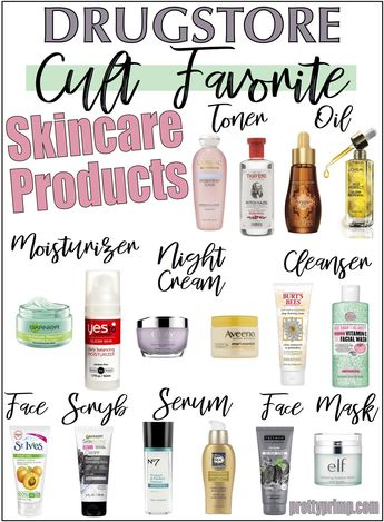 16 Holy Grail Drugstore Skincare Products You Need