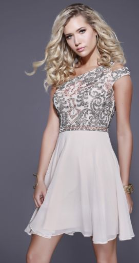 6d2d484649f The bodice is embellished with dazzling sequins that are sure to make you  shine bright all