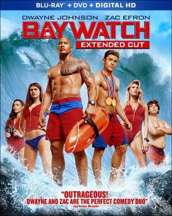Baywatch [Includes Digital Copy] [Blu-ray/DVD] [2017]