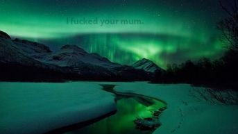 Behold the Northern Lights HD Wallpaper