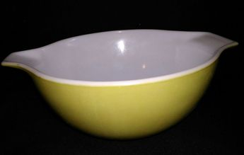 $6.96 or best offer Vintage 1.5 Qt Green Verde Pyrex Cinderella Mixing Nesting Bowl No.442 #Pyrex