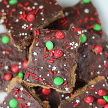 Graham Cracker Toffee is one of the easiest, most delicious desserts ever! There is a reason it is called Christmas Crack - it is addicting!