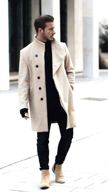 8 Cool Winter Outfits with Jeans for Men