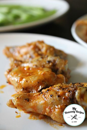 Frank's Red Hot Baked Chicken Wings Vertical