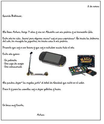 Carta de Aturo