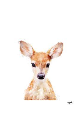 «Little Deer» Art Print by Amy Hamilton