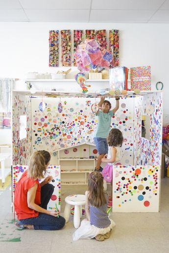 Yayoi Kusama Inspired Obliteration Room