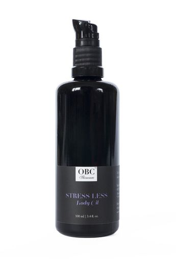 Stress Less organic body oil by Organic Bath Co