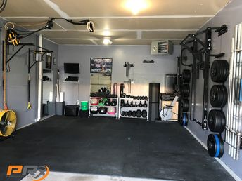 Make your home gym feel like exactly that...home.