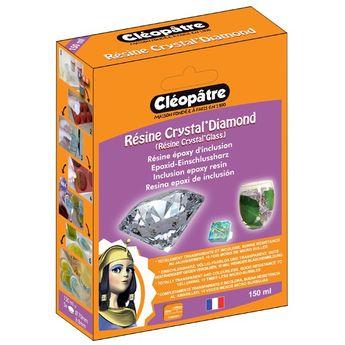 Résine Cléopâtre Crystal'Diamond pour inclusion - 150 ml