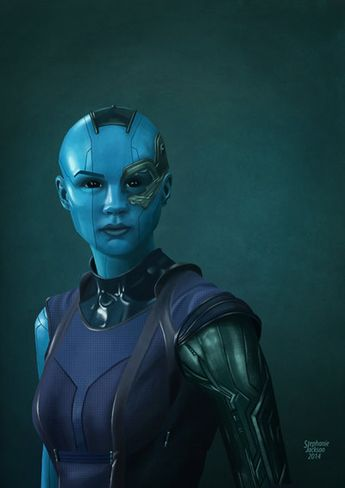 Guardians of the Galaxy - Nebula by eclecticmuse.deviantart.com on @deviantART