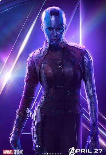 Karen Gillan teases Avengers 4 Nebula & Thanos showdown