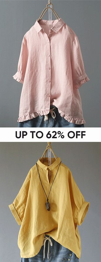 Spring Fashion Long Sleeve Blouses & Shirts