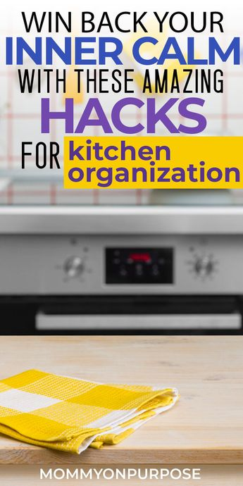 Cheap DIY ideas to make drawers, pantry, and cabinet space work for instead of against you  for kitchen organization ideas. . Hacks to ensure that storage layout zones can be organized on a budget.