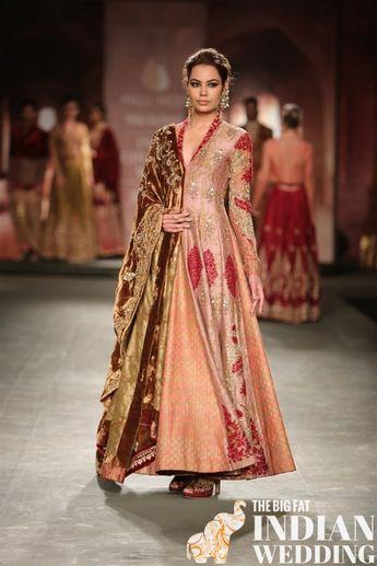 3d1929a8d1 Anju Modi's Manikarnika Bridal Collection {India Couture Week 2014}