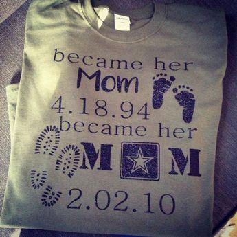 Marine MOM shirt, SHORT Sleeve Tee, MARINE Dad shirt, Army