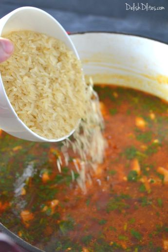 Asopao De Pollo (Puerto Rican Chicken & Rice Gumbo)