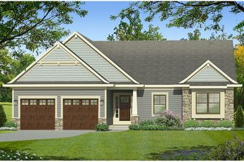 Ranch Exterior - Front Elevation Plan #1010-184