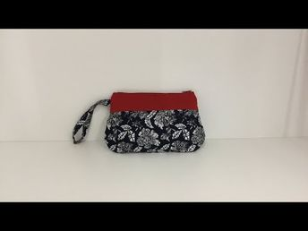 Coudre une petite Pochette arrondie - Tuto Couture Madalena - YouTube