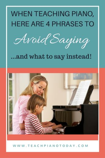 Avoid 'Smushing' and Improve Your Piano Student Communication