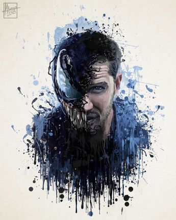 Venom- Splash Art by Mayank Kumar on ArtStation