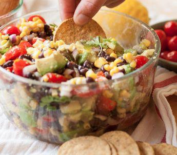 Easy Summer Salads: Corn, Avocado & Black Bean Salad