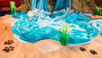 watering hole vbs decorations - Google Search
