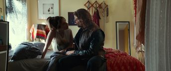 Ally and Jackson (Lady Gaga and Bradley Cooper) in a new still from A Star is Born. credit: Warner Brothers