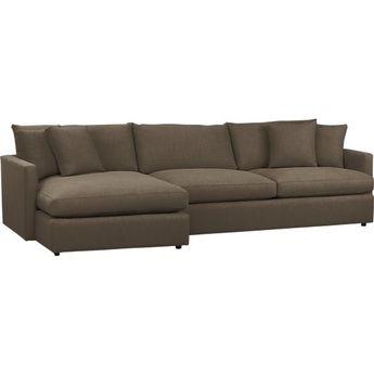 Kivik Sofa And Chaise Lounge Dansbo Dark Gray Ikea