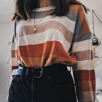 Brown Crew Neck Long Sleeve Women Crop Sweatshirt