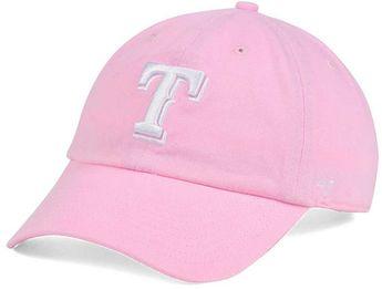 28a2f28a098 ... usa womens texas rangers pink white clean up cap 27892 d600f