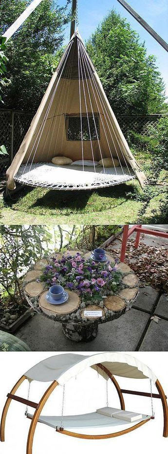 24+ Lazy-Day Backyard Hammock Ideas For Your Relaxation Area
