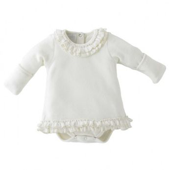 All In One Cream Dress - anyone have a baby girl? this is too sweet