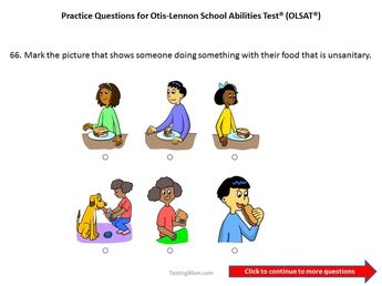 Free Cogat Practice Questions For First To Second Grade
