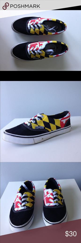 1f2d7e92c3 Route One Apparel Maryland Flag Lace Up Sneakers In very gently used  condition Small signs of
