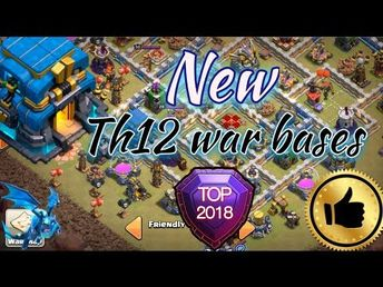 Town Hall 12 Troll Base Design Triple X
