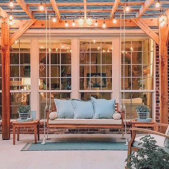 Free DIY Porch Swing Plans & Ideas to Chill in Your Front Porch