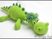 Häkelanleitung Dinodrache