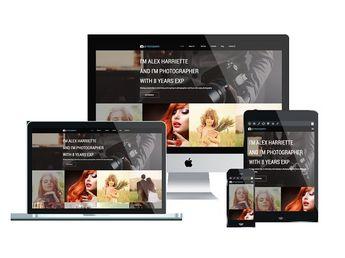 Wordpress Templates For Pographers | Wordpress Theme Ambre Photo By Ambre Designs On Creativ
