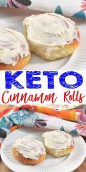 Keto Cinnamon Rolls! No NEED to spend hours baking a low carb cinnamon roll reci... - #baking #carb #cinnamon #hours #KETO #Reci #Roll #rolls #spend
