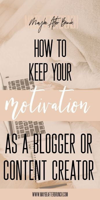 In the world of content creation, it can seem hard to constantly create. I feel you, trust me! I'm talking about motivation as a blogger today, and everything that I do to stay motivated! 2019 is the year of productivity over here! #motivation #productivity #findingmotivation #blogging #blogtips #bloggingtips #howtofindmotivation #howtogetmotivation