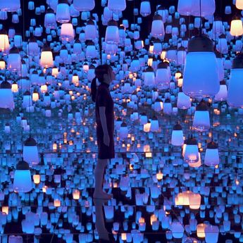 Digital Art Collective teamLab Open Their First Permanent Gallery