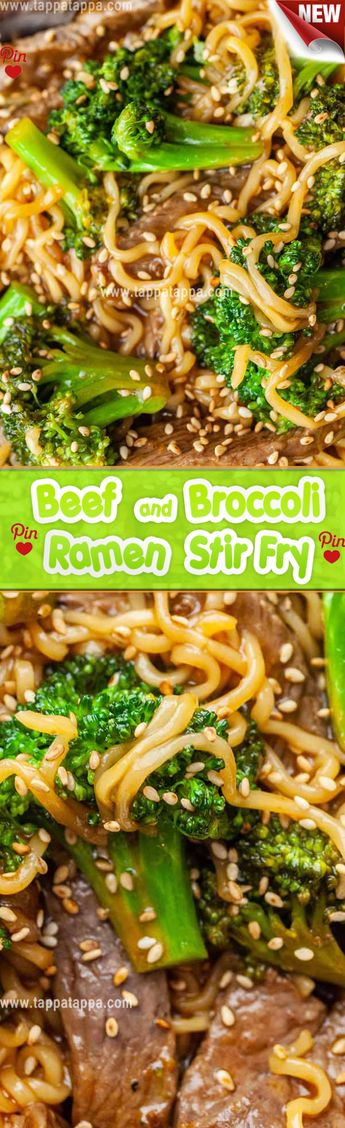 Beef and Broccoli Ramen Stir Fry I like to use sirloin steak when Im making beef stir fries. It has the perfect mix of lean meat and fat and its still tender even if cooked quickly. You could use other cuts of steak but try to avoid getting one that has a high fat content like porterhouse steak. (Save those for the grill!)