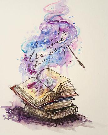 Ein normales Buch kann einen in sich hinein ziehen, so das man das Buch erlebt. Kann es dan nicht Zauberbücher geben, deren Zauber in Träumen wahr werden?