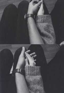 love photography couple girl cute Black and White life Him beautiful hipster vintage indie b&w hands Grunge lovely boy happiness sweet her Romantic feeling